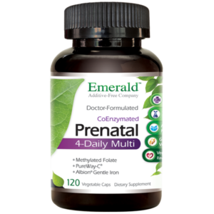Emerald Prenatal 4-Daily Multi (120) Bottle