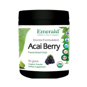 Emerald Acai Berry Powder (90gram) Bottle