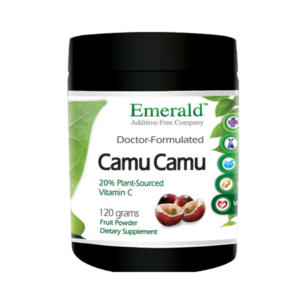 Emerald Camu Camu Powder (120 Gram) Bottle