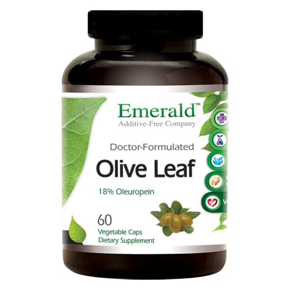 Emerald Olive Leaf (60) Bottle