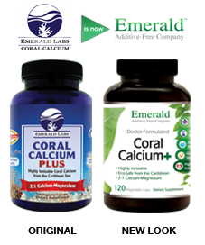 Coral Calcium Side-by-Side