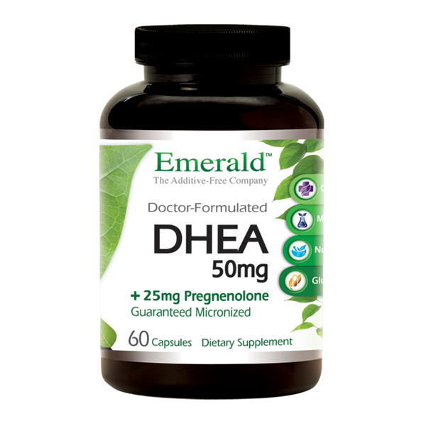 DHEA Pregnenolone Bottle