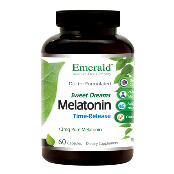 Melatonin Time Release (60) Bottle