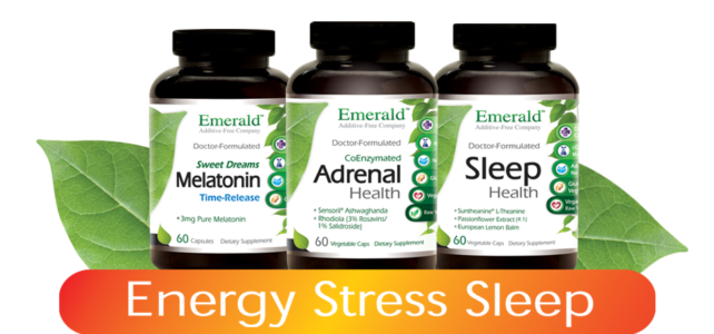 Energy Stress Sleep